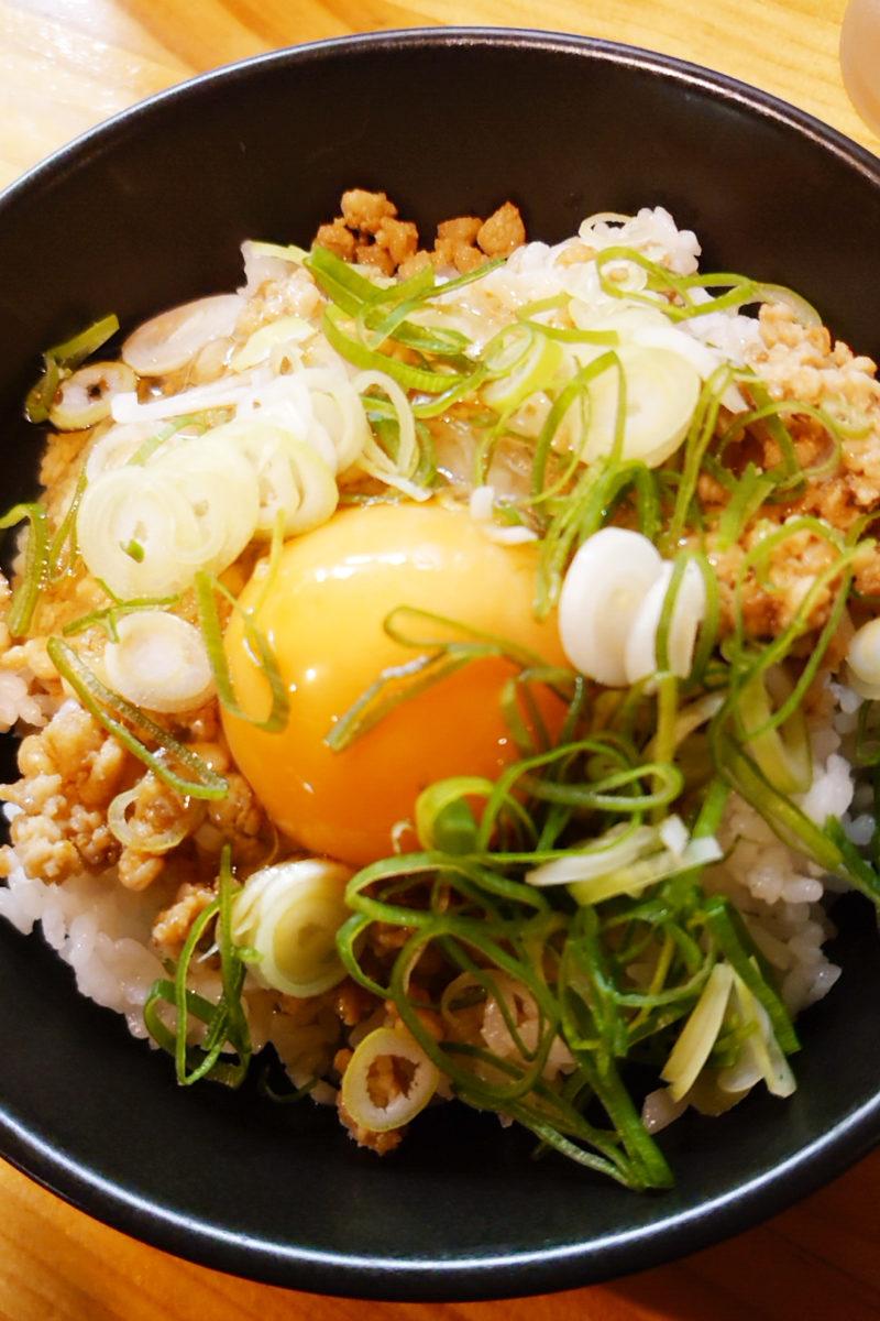 赤羽 龍麺特製TKG