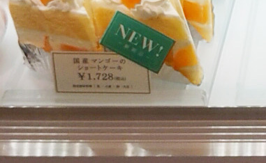 赤羽 千疋屋 ショートケーキ 値段