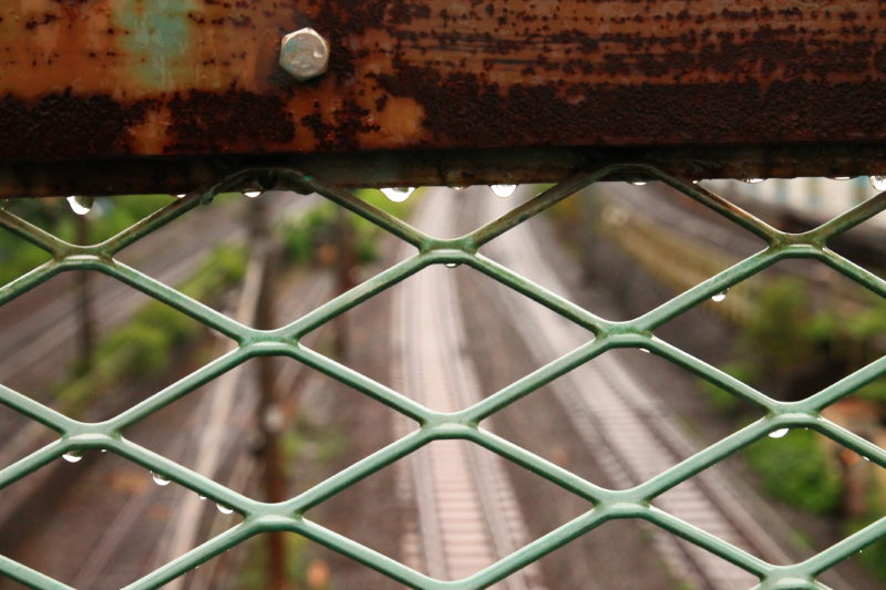 飛鳥山下跨線人道橋