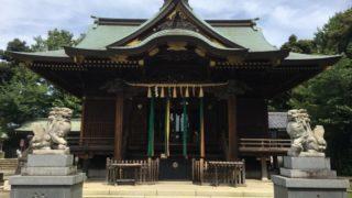 赤羽八幡神社 拝殿