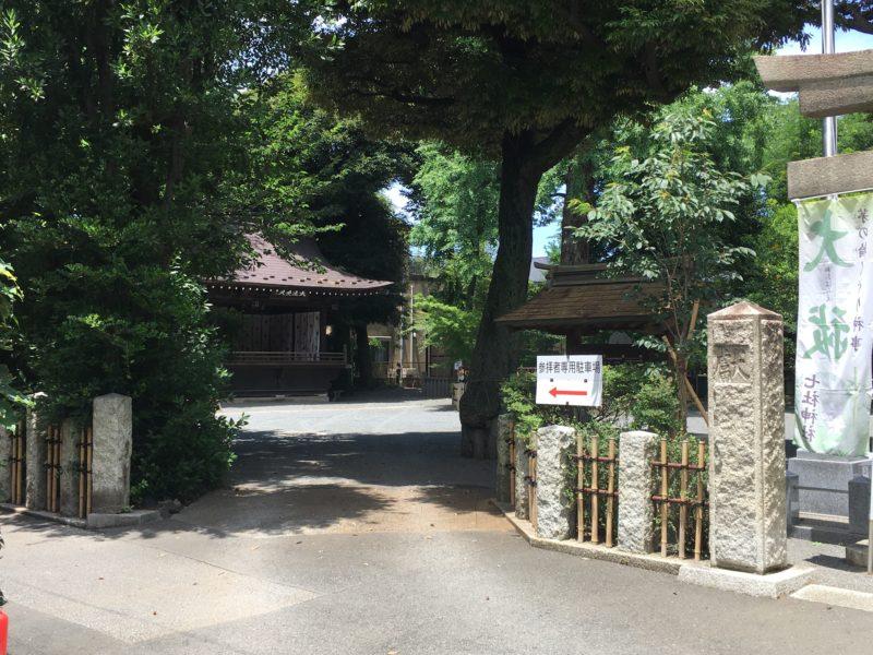 七社神社 駐車場