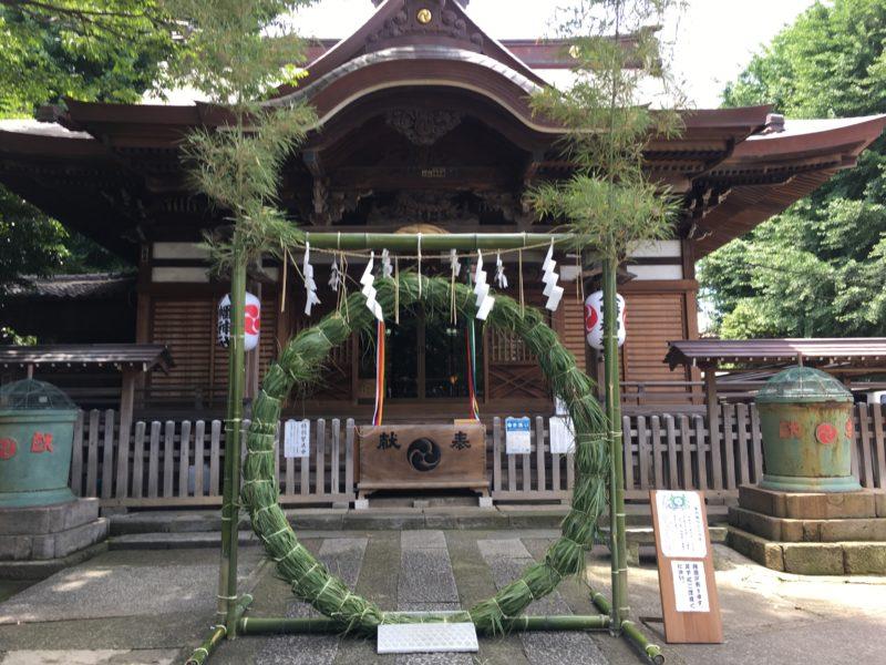 瀧野川八幡神社 社殿