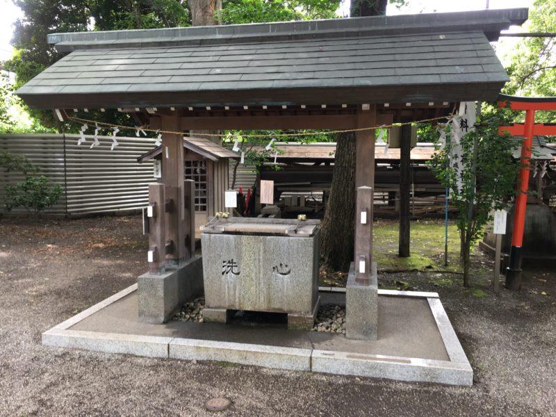 平塚神社 手水舎