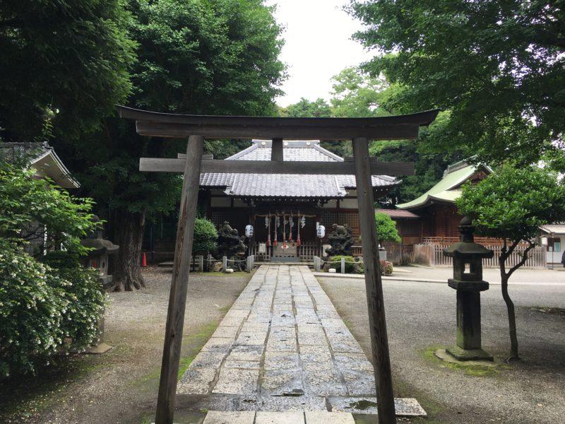 平塚神社 鳥居