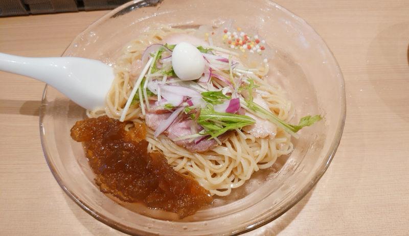 らぁ麺 はやし田 柚子と煮干しの冷やしそば
