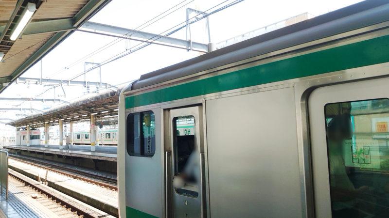 JR赤羽駅 埼京線ホーム