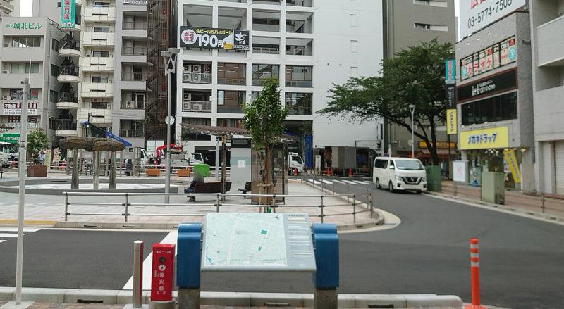 JR板橋駅 東口