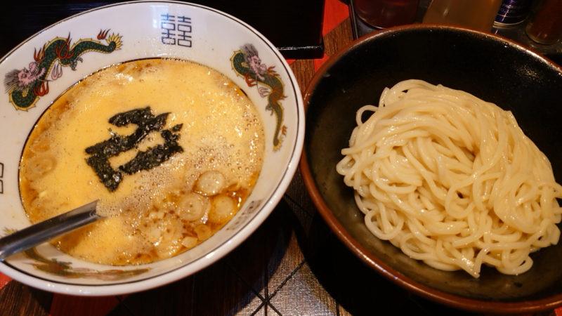 オールドラーメンショップ 逆流 納豆つけ麺