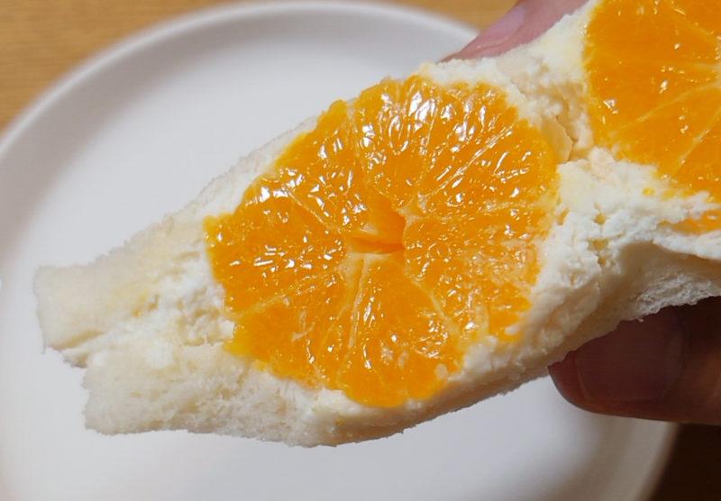 サンドイッチハウス メルヘン まるごと温州みかん生クリーム