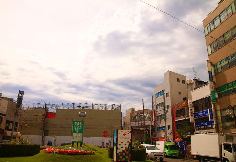 JR十条駅前