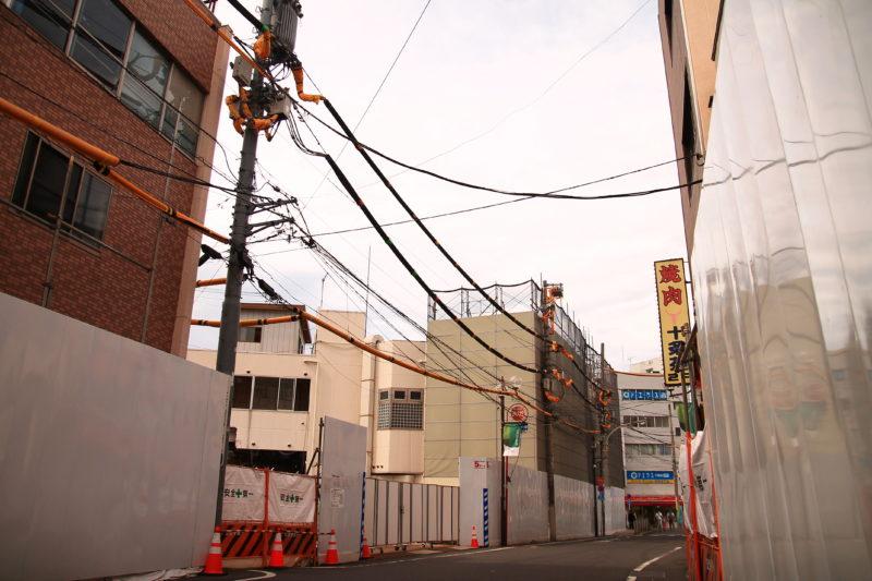 JR十条駅前 西口再開発 街並み