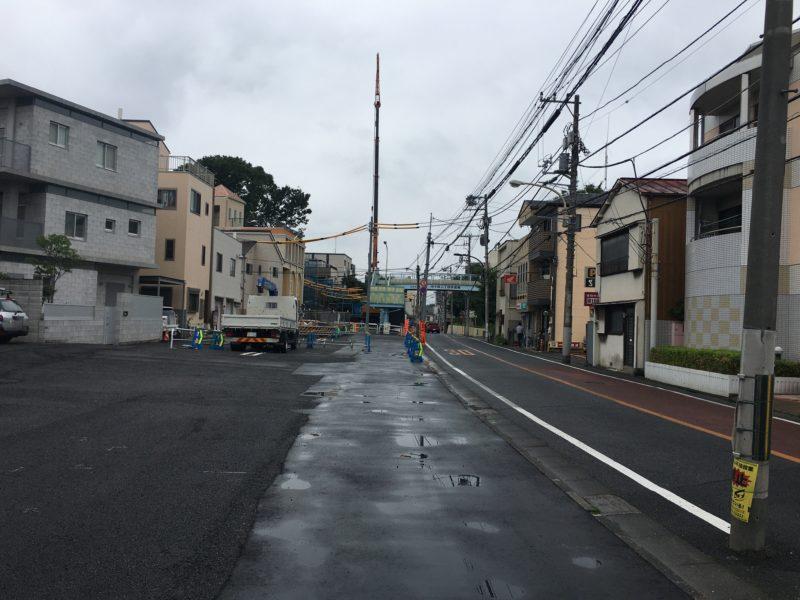 十条富士塚 移築