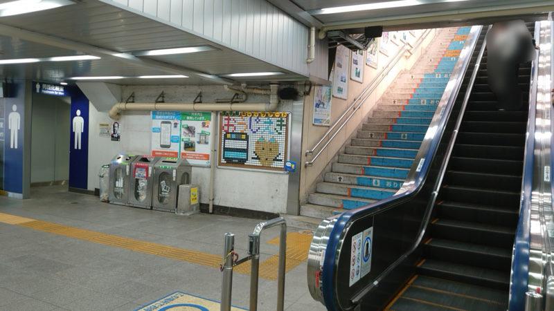 JR王子駅 構内