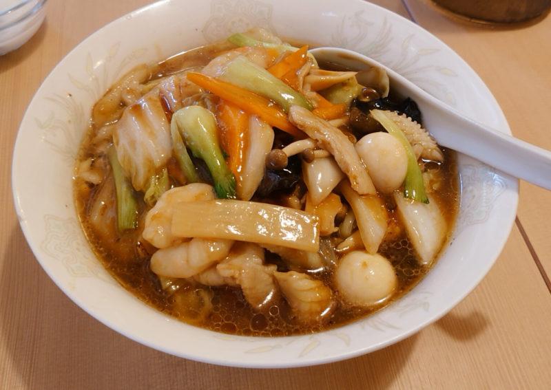 帥府 餃子酒場 王子店  五目麺