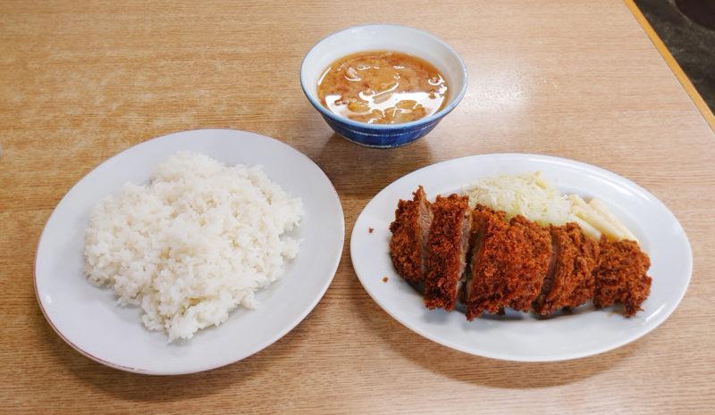 西ヶ原 みのや 豚かつ定食