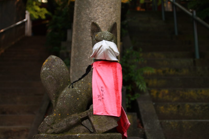 王子稲荷神社 狛狐