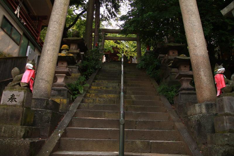 王子稲荷神社 階段