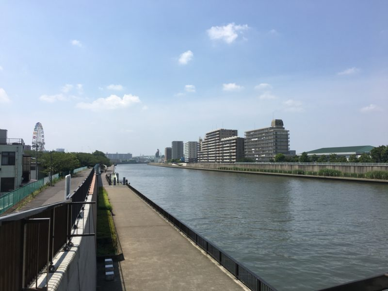 小台橋からの眺め