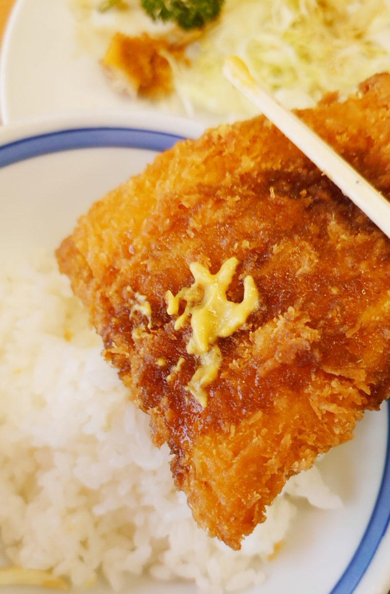 三忠食堂 アジフライ定食