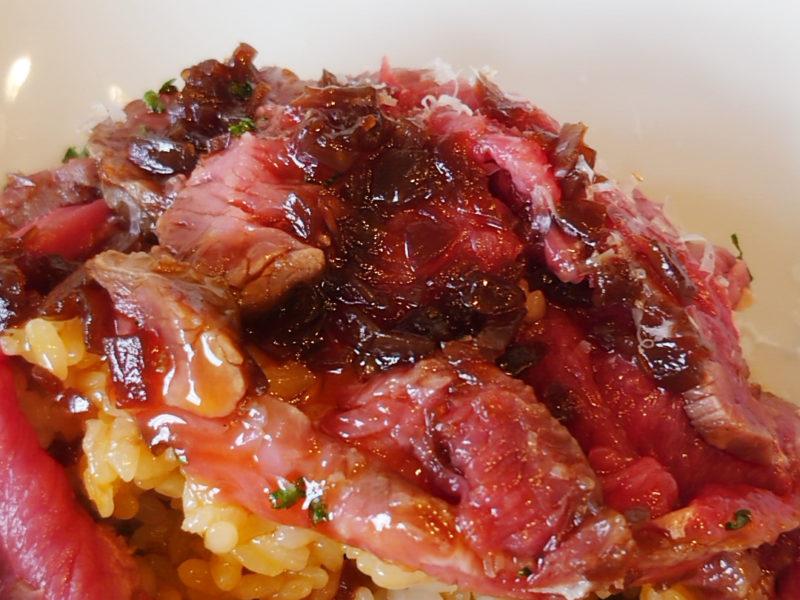 肉屋のイタリア酒場 マリオ ローストビーフ丼