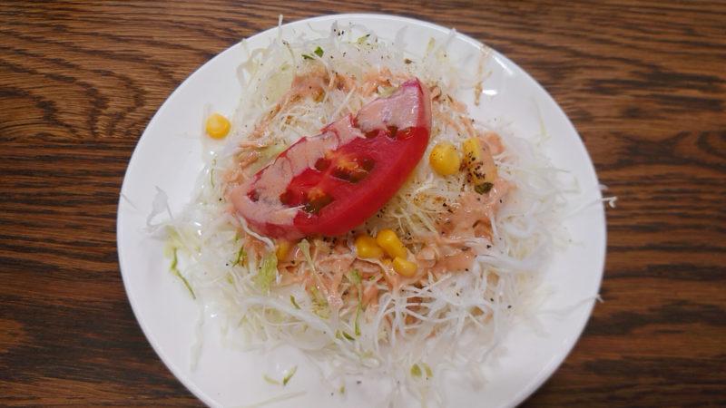 キングケパブ東十条 サラダ