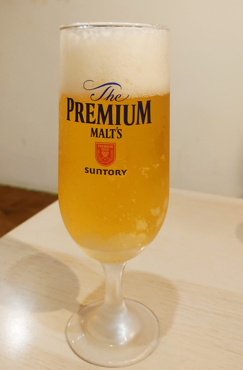 トラットリアミノリ ビール