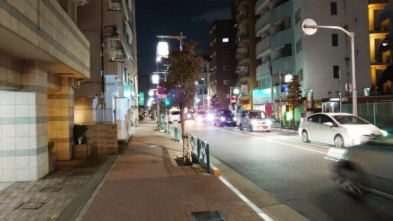 田端 八福食堂 場所