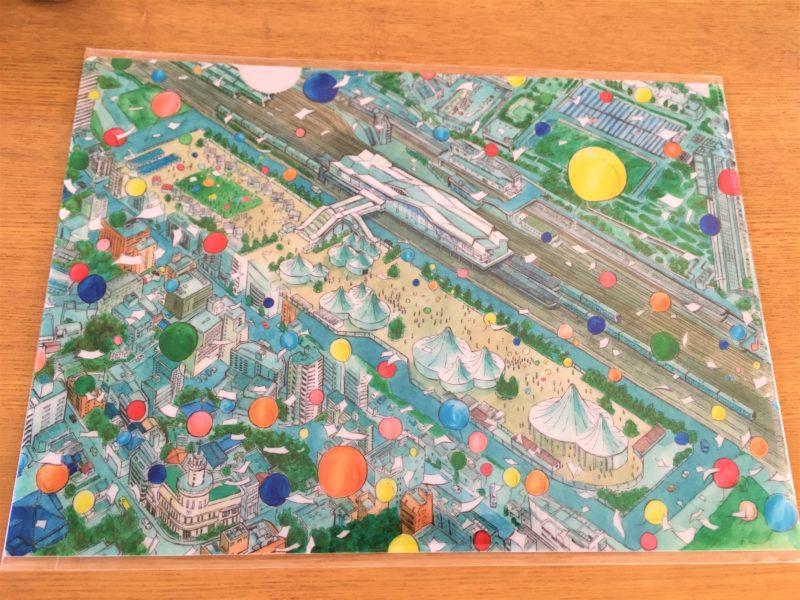 高輪ゲートウェイ駅 開業記念 クリアファイル