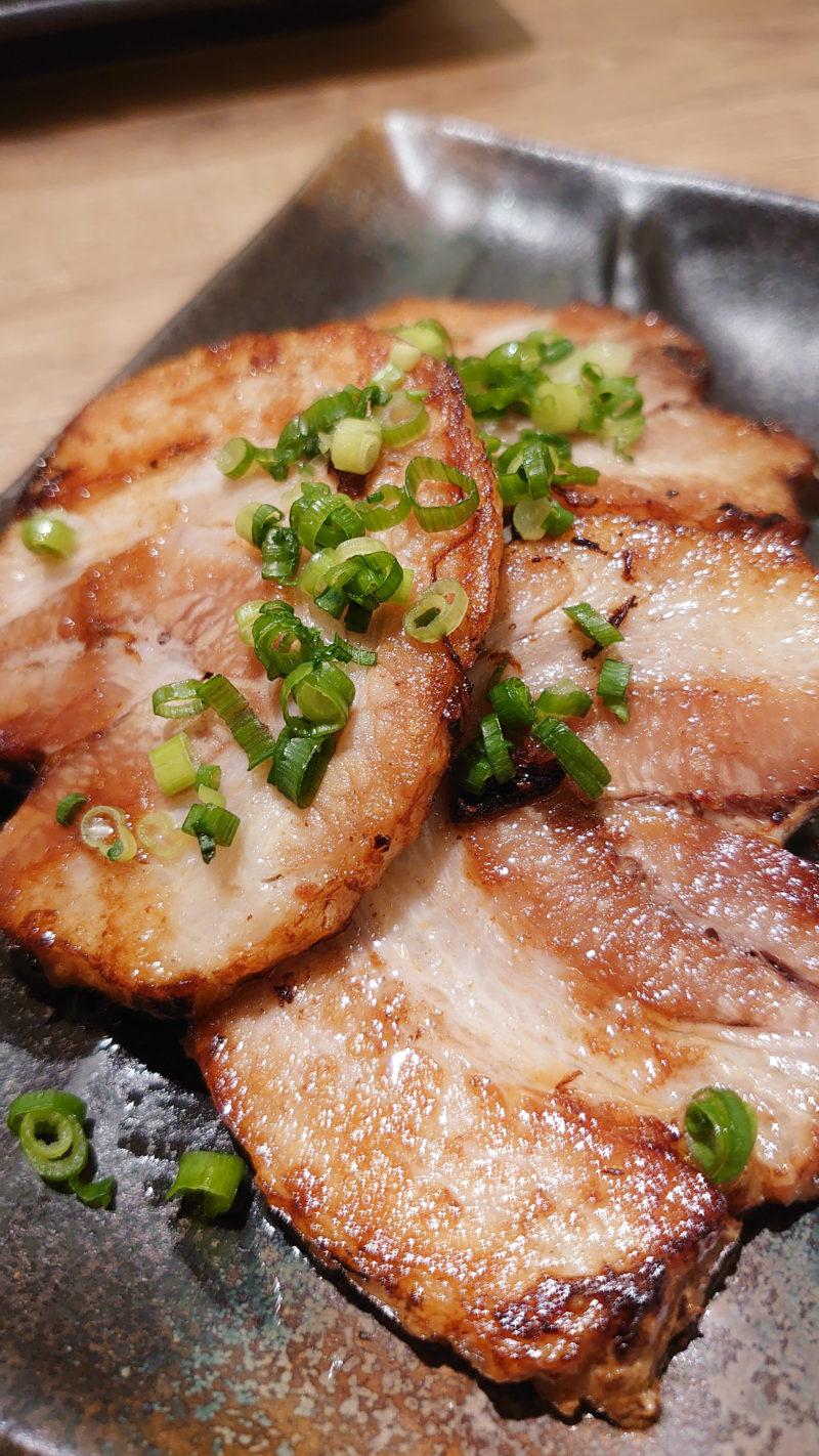 肉汁餃子のダンダダン 赤羽南口店 自家製炙りチャーシュー