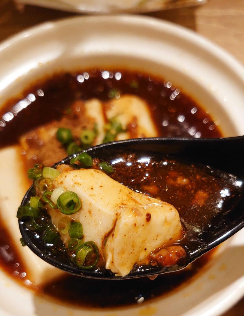 肉汁餃子のダンダダン 麻婆豆腐定食