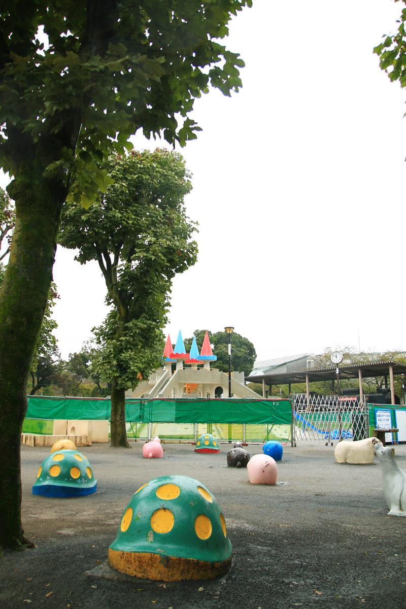 飛鳥山 お城のすべり台