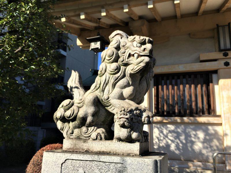 紀州神社 狛犬