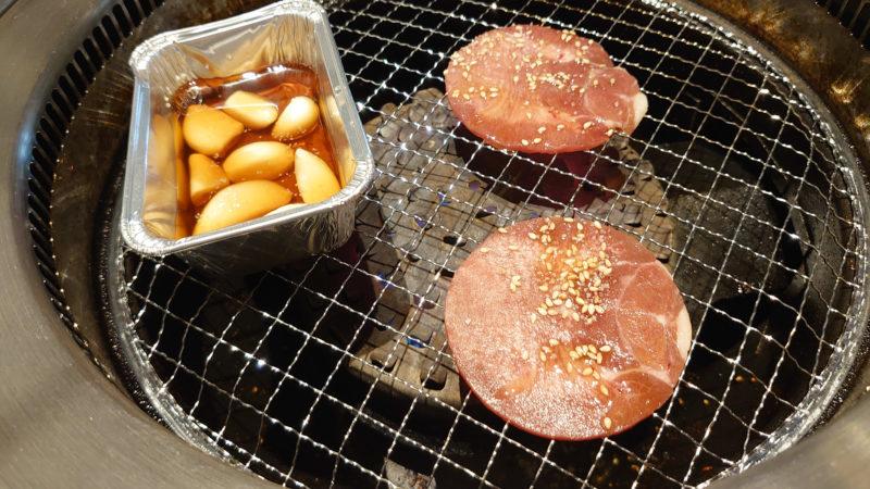 特急レーン 焼肉の和民 王子店 ネギ塩牛タン