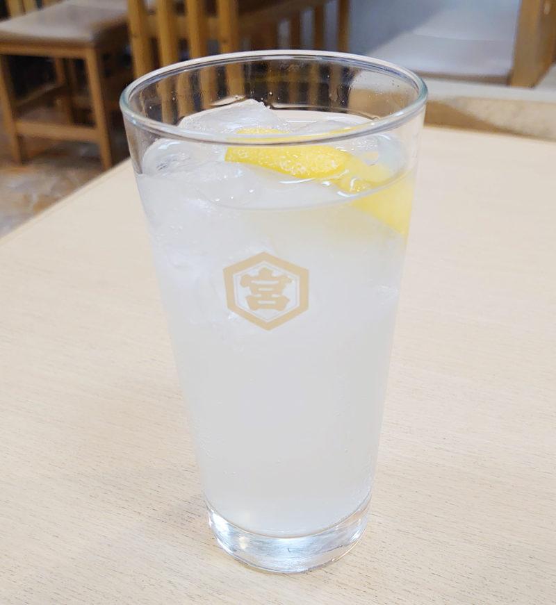 十条 味の大番 レモンサワー