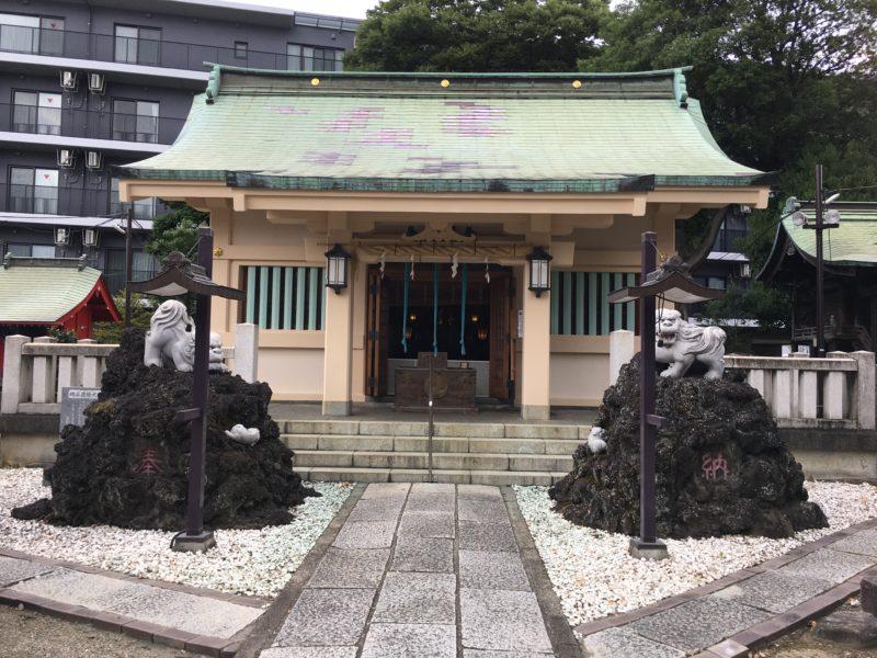 志茂熊野神社 拝殿
