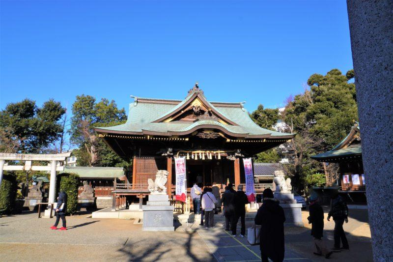 赤羽八幡神社 初詣