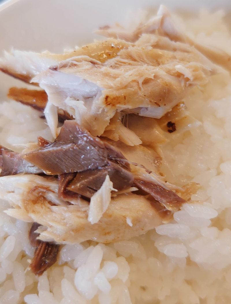 旬菜肴 たかはし サバ塩焼き定食