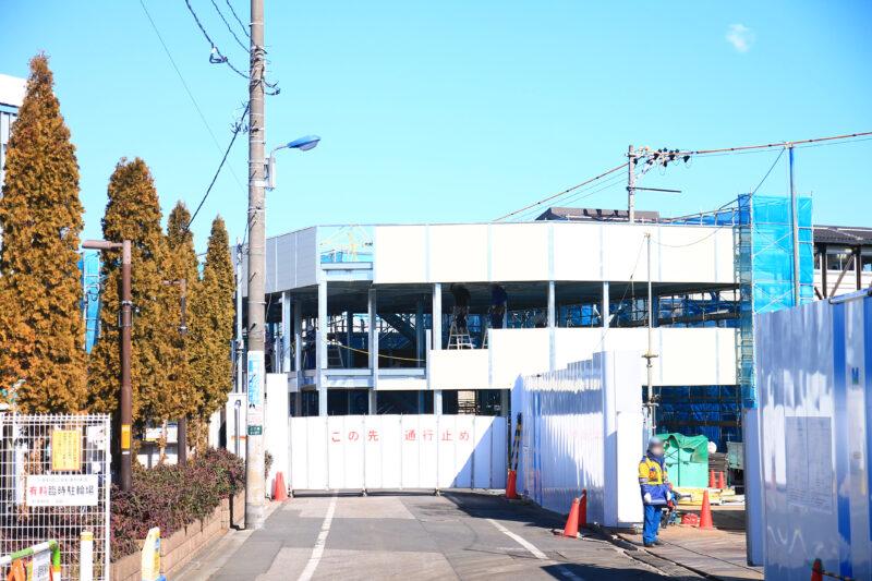 十条駅 北口 自転車置き場