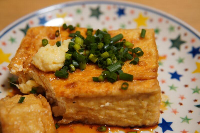 朝日屋豆腐店 十条 絹生揚げ