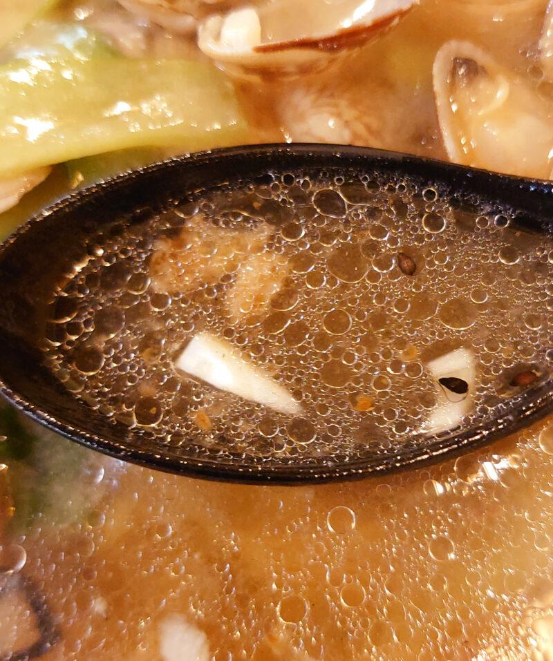 台湾屋台料理 満龍 あさりラーメン