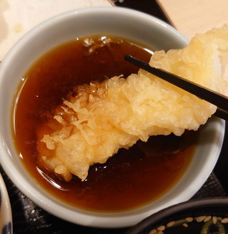 十条 魚一 キス・イカの天ぷら定食