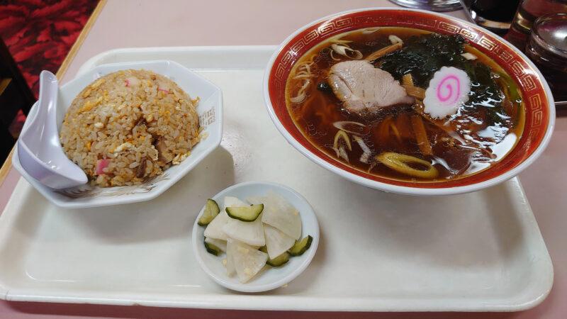 銀龍 北赤羽 ラーメン&半炒飯