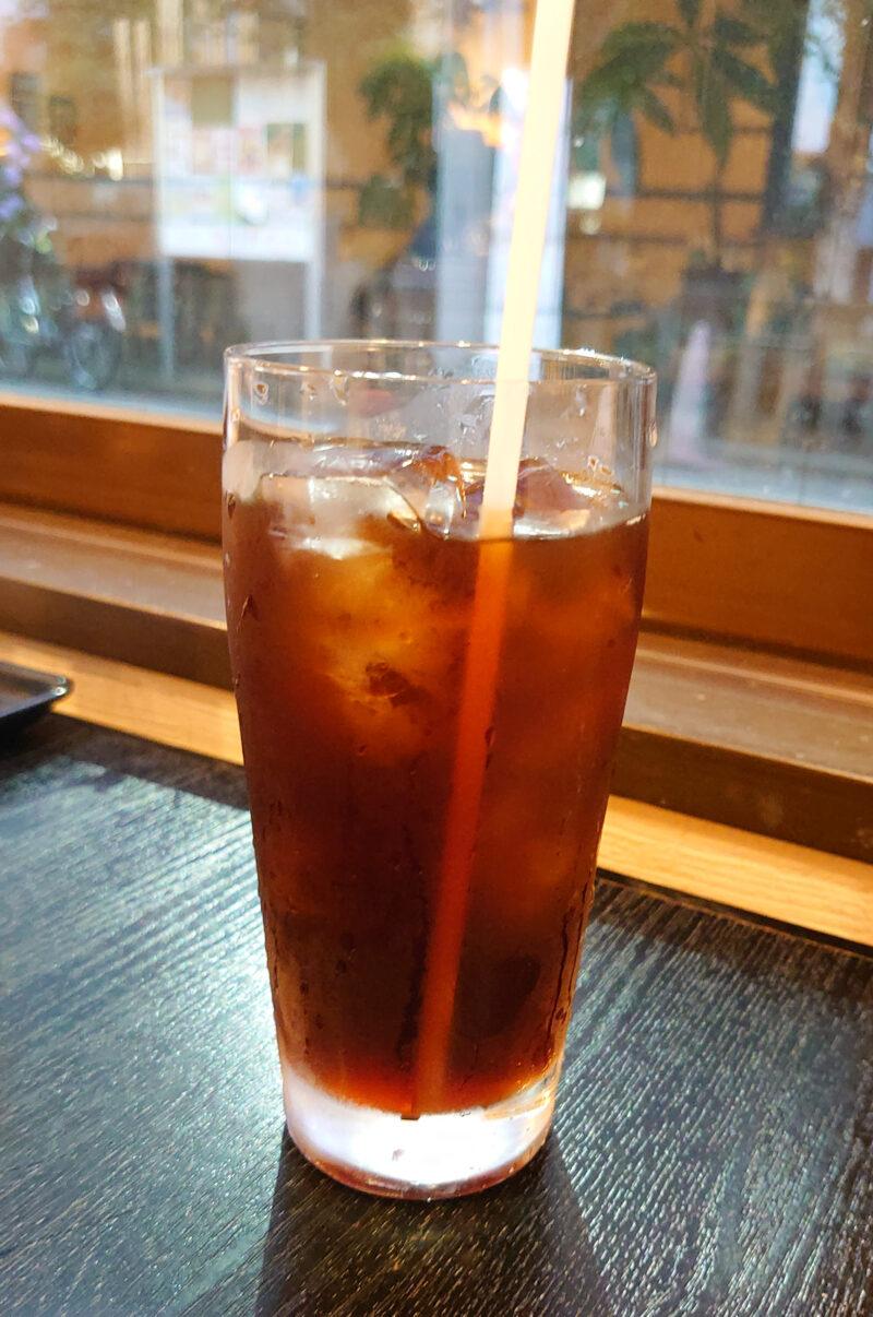 喫茶店しゃとう アイスコーヒー