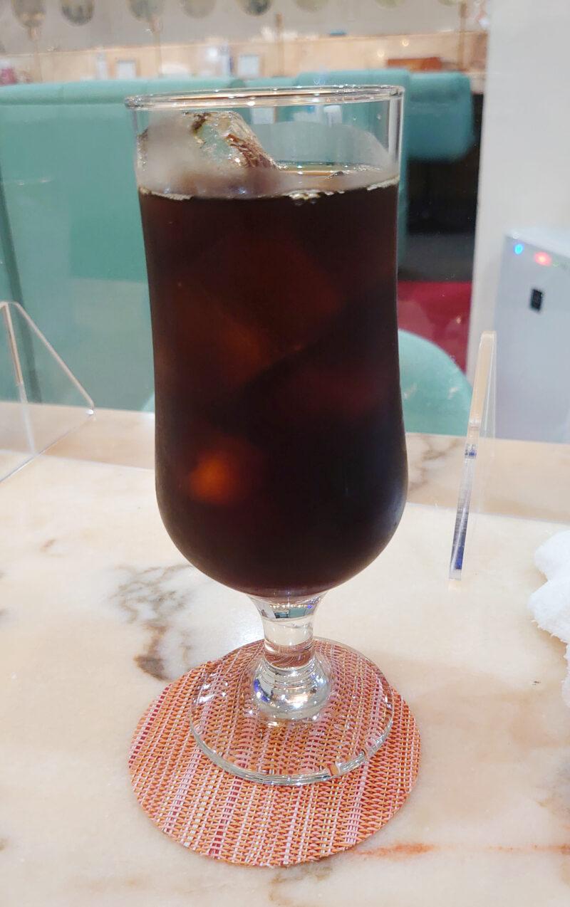 駒込 マロン アイスコーヒー
