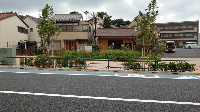 稲付村の一里塚
