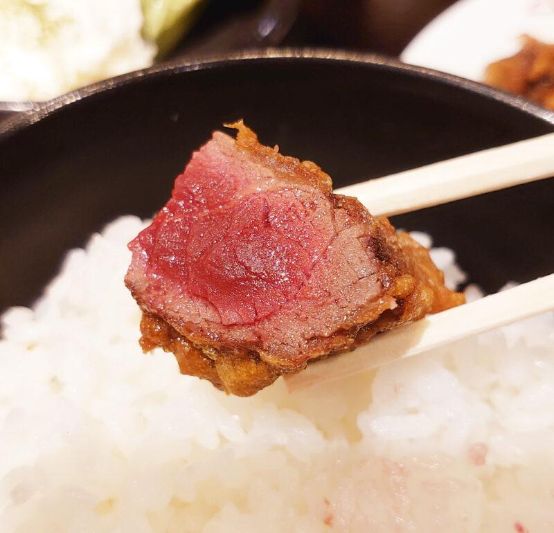 馬肉専門店 馬喰ろう 赤羽店 馬肉レア唐揚げ定食