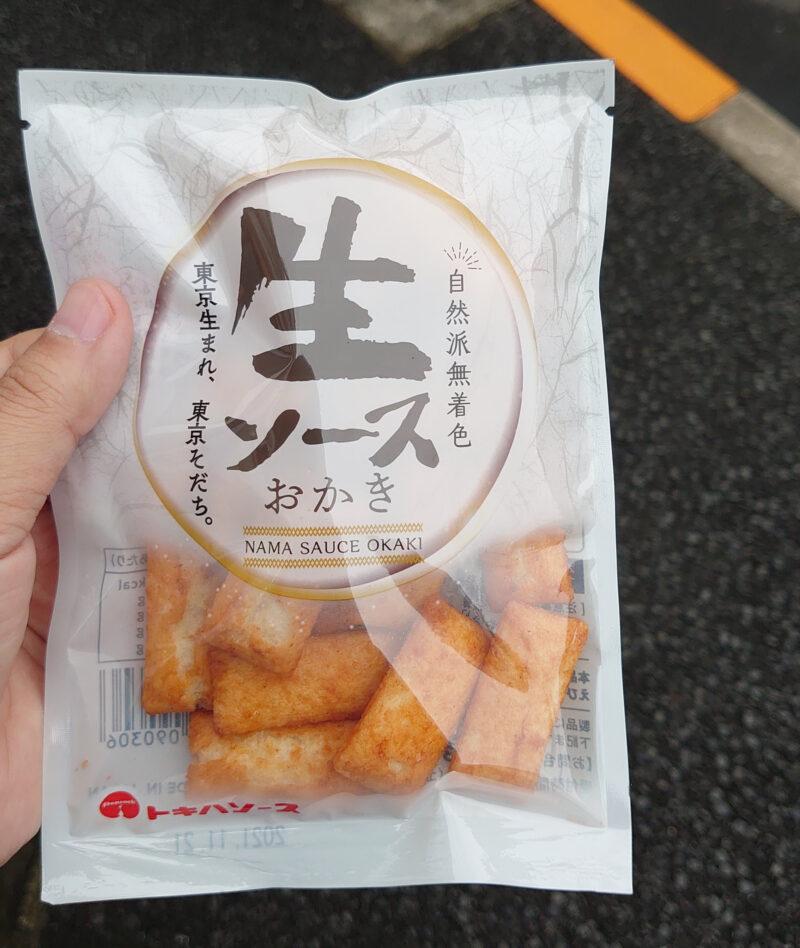 トキハソース 生ソースおかき