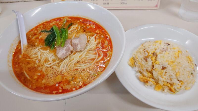中国料理 杏花村の担々麺