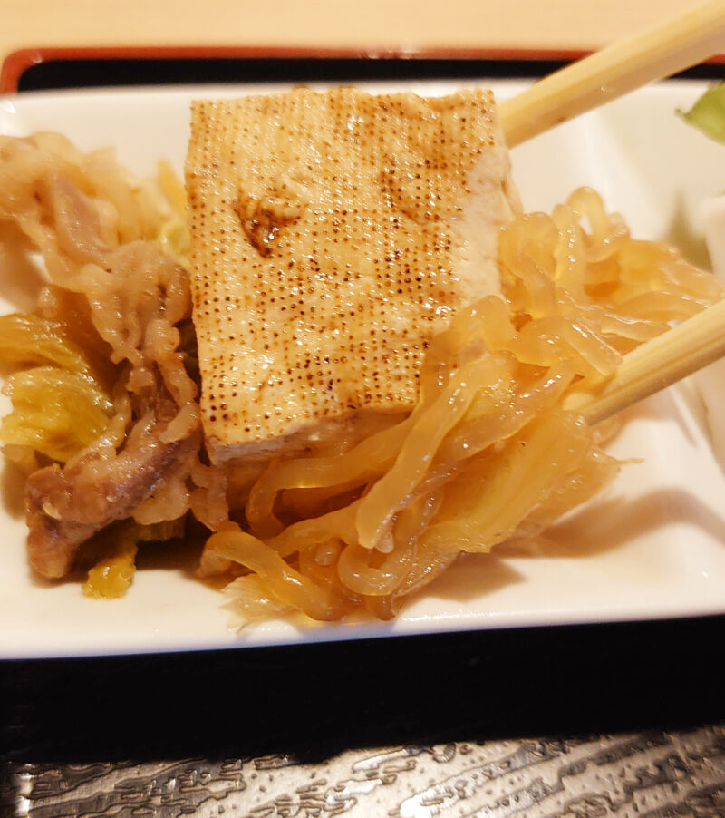 一八寿司 あじのたたき定食