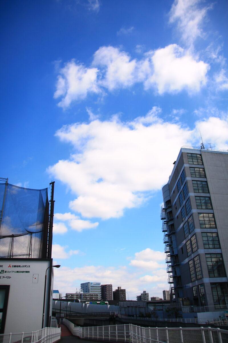北区の青空